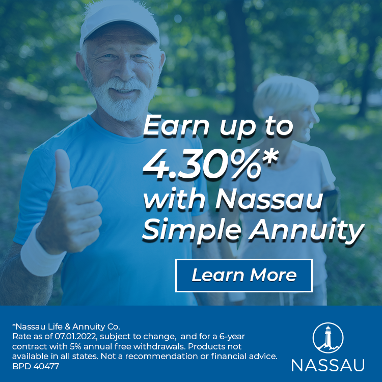 Earn up to 3.10% with Nassau Simple Annuity