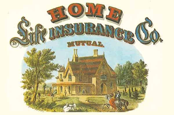 Ad for Home Life Insurance