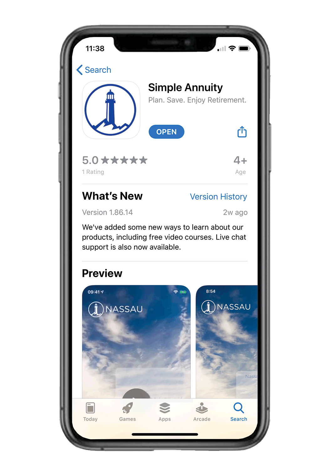 Simple Annuity Mobile APP