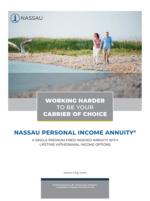 Nassau Personal Income Annuity Brochure Cover